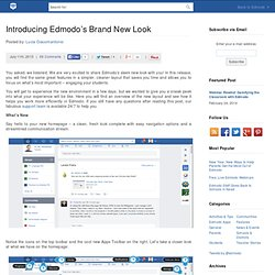 Introducing Edmodo's Brand New Look