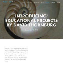 Introducing: Educational Projects By David Thornburg — Polar3D