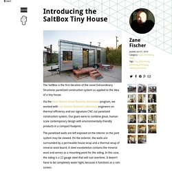 Introducing the SaltBox Tiny House - Extraordinary Structures