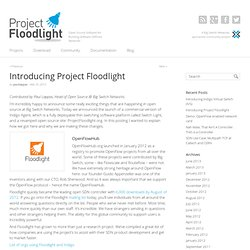 Project FloodlightProject Floodlight
