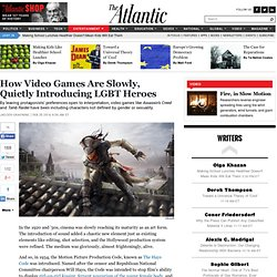 How Video Games Are Slowly, Quietly Introducing LGBT Heroes - Jagger Gravning