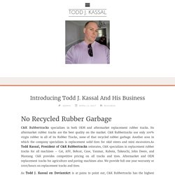 Introducing Todd J. Kassal And His Business