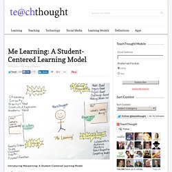 Introducing Me Learning: A Student-Centered Learning Model