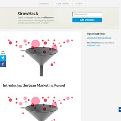 Introducing the Lean Marketing Funnel » GrowHack