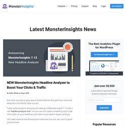 Introducing the NEW MonsterInsights Headline Analyzer