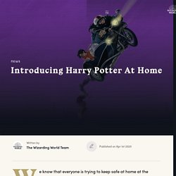 Introducing Harry Potter At Home