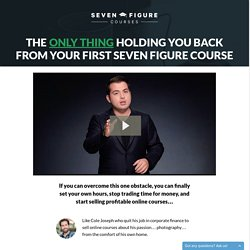 Introducing Seven Figure Courses (A Brand New Course That Helps You Launch A Profitable Online Course Business)