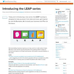 Introducing the LEAP series