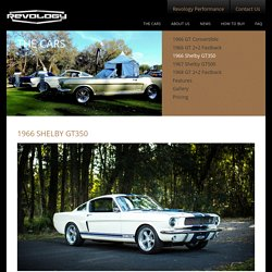 Introducing brand-new 1966 Shelby GT350