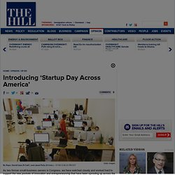 Introducing 'Startup Day Across America'