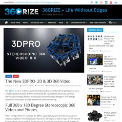 Introducing the 3DPro - Stereoscopic 360 Video