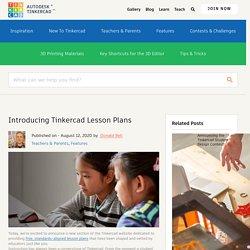 IntroducingTinkercad Lesson Plans