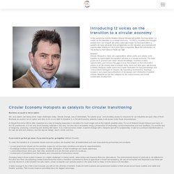 Circular Economy Hotspots as catalysts for circular transitioning