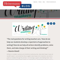 Introducing The Writing Masters Blog Series