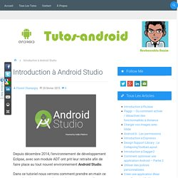 Introduction à Android Studio