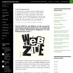 Comment concevoir un webzine en ligne ? Introduction