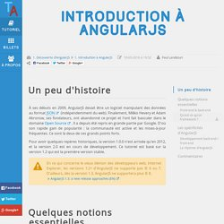 Introduction à AngularJS