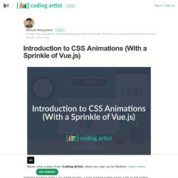 Introduction to CSS Animations (With a Sprinkle of Vue.js)