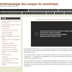 Introduction : Des techno-imaginaires aux normes sociales - Anthropologie des usages du numérique