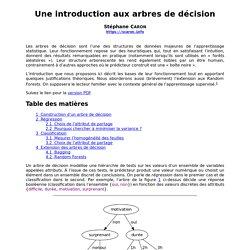 Une introduction aux arbres de décision