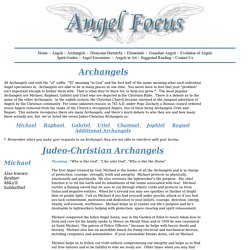 Introduction to Archangels