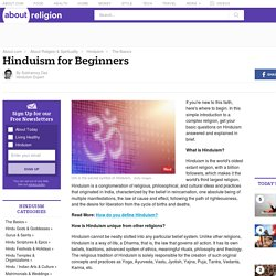 Hinduism for Beginners - What is Hinduism?