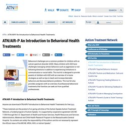 Science/Find Resources & Programs/Autism Treatment Network/ATN Tool Kits