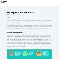 Introduction to Blockchains, NEM, and 2.0 Features.