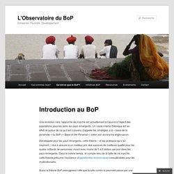 Introduction au BoP