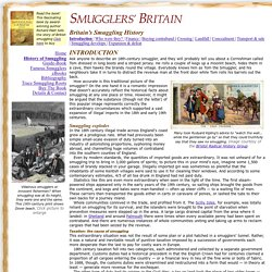 Introduction to Britain's smuggling history