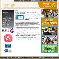 """MOOC """"Introduction à la cartographie des processus métiers"""""""