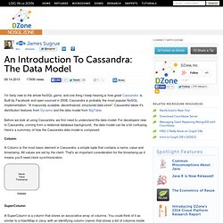 An Introduction To Cassandra: The Data Model
