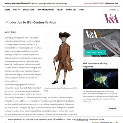Introduction to 18th-Century Fashion