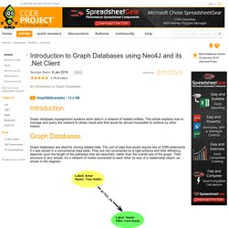 Introduction to Graph Databases using Neo4J and its .Net Client - CodeProject