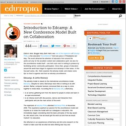 Introduction to Edcamp: A New Conference Model Built on Collaboration