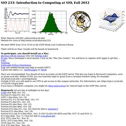 Python/Unix Course