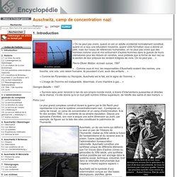 Introduction [Auschwitz, camp de concentration nazi]
