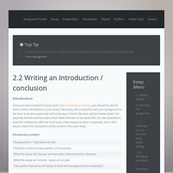 introduction essay writing skills