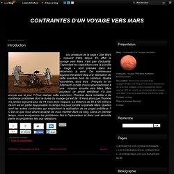Introduction - Contraintes d'un Voyage vers Mars