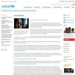 La Convention relative aux droits de l'enfant - Introduction à la Convention relative aux droits de l'enfant