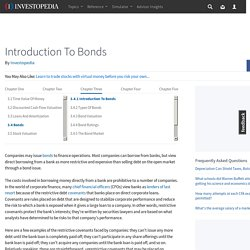 Introduction To Bonds - Complete Guide To Corporate Finance