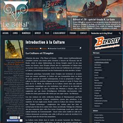 Introduction à la Culture - Le blog Bifrost