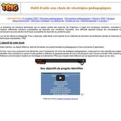 Introduction à la démarche TRIS