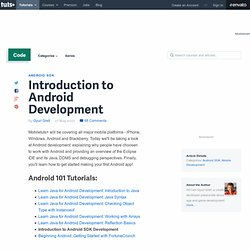 Introduction to Android Development