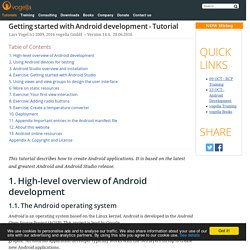 Android 4.0 Development Tutorial