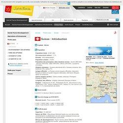 Introduction de la Suisse