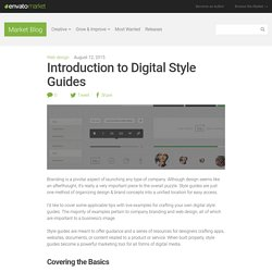 Introduction to Digital Style Guides