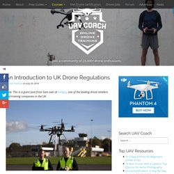 An Introduction to UK Drone Regulations