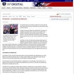 Introduction – Les élections aux États-Unis