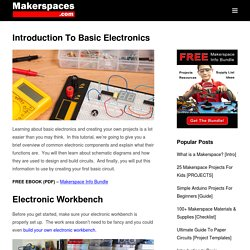 Introduction to Basic Electronics, Electronic Components and Projects